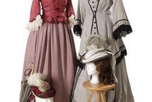 Barrandov Fundus Tournure costume samples