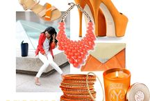 ORANGE / Use the colour Orange to balance your emotions, inspire creativity and encourage happiness