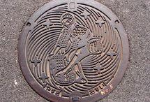 Japan Manhole Covers / Japanese manhole covers