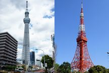 Which Do You Prefer to the Other? Tokyo Tower vs. Tokyo Skytree