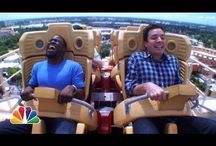 funniness / Hart and Fallon on rollercoasters