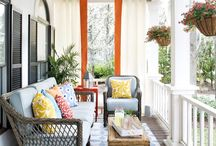 Porches and Decks / Front Porch/Back Porch Inspiration + Likes