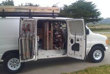 Grip truck production van / Video production and film van