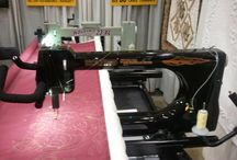 Custom Machines / Custom colors or modified machines / by Nolting Longarm