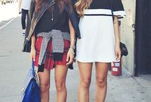 // Street Style: Song Sisters