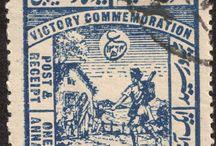 India - Hyderabad Stamps