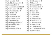 Scripture Writing Plans