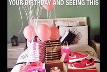Birthdays <3