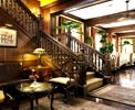 Hotel Grano de Oro / Situated on a shady street just off Paseo Colon, San Jose's main thoroughfare, Hotel Grano de Oro is a true oasis, a sanctuary in the heart of the city. Converted from a Tropical Victorian mansion, the 40-room hotel maintains the warmth and comfort of a private home.