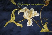 VolynskayaManufacture / Art embroidery on Textile / Presse