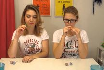 Mearghan's Food Adventures / Two sisters navigating foods they have never ate before.  / by Meghan Rinaldi