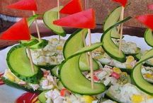 Appetizers and fun finger foods