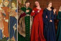 Medieval Female Clothing / A visual clothing guide for the femal reenactor. It is thought for whoever wishes to create a XIV-XV turn-of-the-century wardrobe.