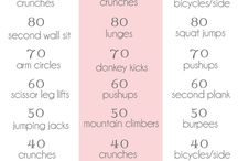 Fitness / Exercise and workouts that I would be willing to do