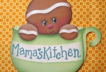 GINGERBREAD PEOPLE / by Charlotte English