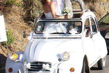 Wedding voiture