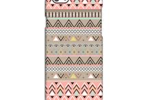 Tribal iPhone Cases / Tribal patterned iPhone cases. Full wrap-around print, with a premium matte finish and key line detailing around the camera. These cases are highly scratch-resistant and will never peel or flake.