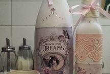garrafas / idéias
