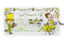 [ Chartreuse Wedding ] / Somewhere between mustard and green, tones of Chartreuse in your wedding invitations and stationery by BestOfCards, and other tips for your decoration and dress.