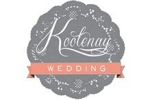 kootenay wedding / custom wedding; kootenay style www.kootenaywed.com  / by Carmen Adams
