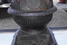 KUZİNE SOBA      antique stove oven / EV
