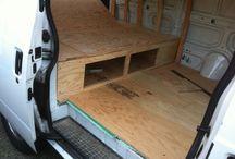 VanGo / Ideas for camperizing our Safari van / by Debra Rigler-Arsenault