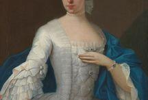 Mujeres Vestidas, España s. XVIII
