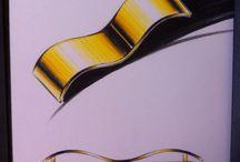 MY WORK, MY JEWELLERY PROJECTS / My handmade drawings ✏️