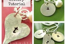 Stamping necklaces