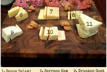 Cheese and antipasto boards
