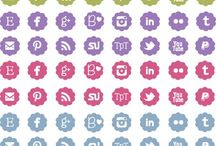 Products from My Store / I create lots of cute and pretty clipart and digital papers. / by Grade ONEderful