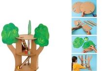 recycling - karton - hračky a dětský nábytek