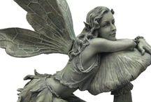Elfen-Statue für den Garten
