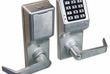 Alarm lock 4100 series push button