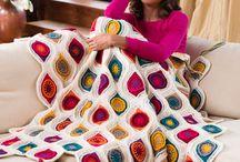 Crochet and Knit Projects / Crochet and Knit projects using Coats yarn including Red Heart and Rowan