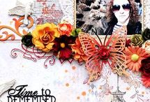 Scrapbooking Inspiration / by Jill Foster