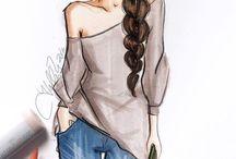 moda (desenhos)