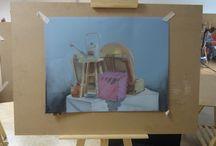 2013 / entro a bellas artes de la urjc, y aunque el primer año es una decepción absoluta, tratamos de seguir dibujando