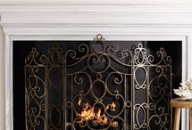 art-metal fireplace screens and accessories
