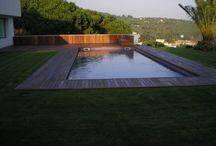 Tarima Exterior para piscina en Cabrera
