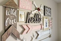 Girl Boho Arrow Nursery