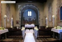 FLORAL ARRANGEMENTS FOR WEDDINGS - allestimenti floreali per matrimoni / Weddings in Florence and Tuscany