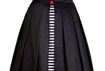 верхняя юбка
