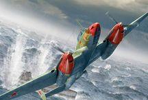 ww2 Russian Bombers