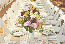 Vintage Style Tableware / Vintage Style Table Settings for Weddings