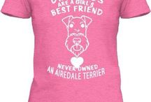 My Airedale likes