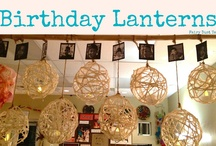 Birthday displays / by Lori Girvin