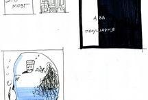 Designer sketching