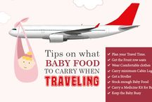 Baby food to carry when traveling.