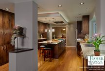 KITCHEN REMODEL: New - & Old / Travel, kitchen remodel, transitional, contemporary interior design.